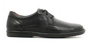 Clarks Mens Butleigh Edge Black Leather Shoes